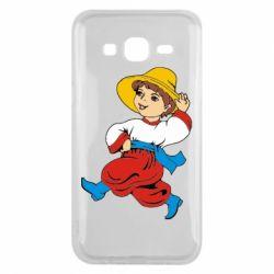 Чехол для Samsung J5 2015 Маленький українець - FatLine