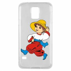 Чехол для Samsung S5 Маленький українець - FatLine