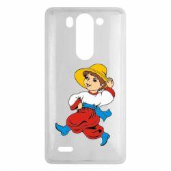 Чехол для LG G3 mini/G3s Маленький українець - FatLine