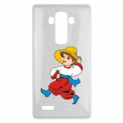 Чехол для LG G4 Маленький українець - FatLine