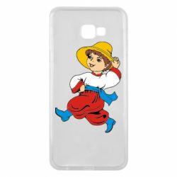 Чехол для Samsung J4 Plus 2018 Маленький українець - FatLine