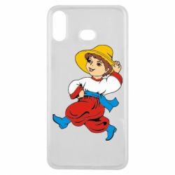 Чехол для Samsung A6s Маленький українець