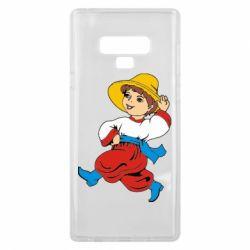 Чехол для Samsung Note 9 Маленький українець - FatLine