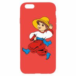 Чехол для iPhone 6/6S Маленький українець - FatLine