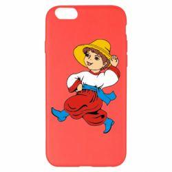 Чехол для iPhone 6 Plus/6S Plus Маленький українець - FatLine