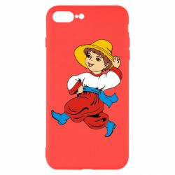 Чехол для iPhone 7 Plus Маленький українець - FatLine