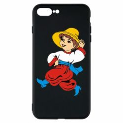 Чехол для iPhone 8 Plus Маленький українець - FatLine