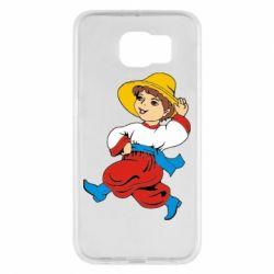 Чехол для Samsung S6 Маленький українець