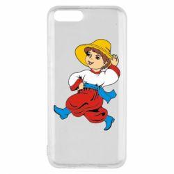 Чехол для Xiaomi Mi6 Маленький українець - FatLine