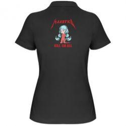 Жіноча футболка поло Малятко