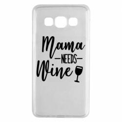 Чехол для Samsung A3 2015 Mama need wine