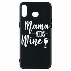 Чехол для Samsung A6s Mama need wine