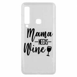 Чехол для Samsung A9 2018 Mama need wine