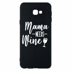 Чохол для Samsung J4 Plus 2018 Mama need wine