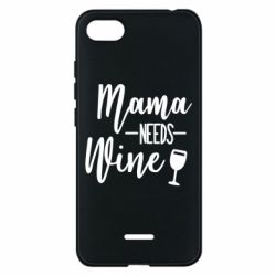 Чехол для Xiaomi Redmi 6A Mama need wine