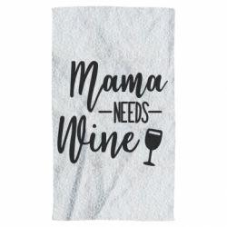 Полотенце Mama need wine