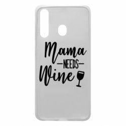 Чехол для Samsung A60 Mama need wine