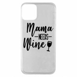 Чехол для iPhone 11 Mama need wine