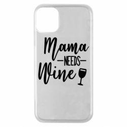 Чехол для iPhone 11 Pro Mama need wine