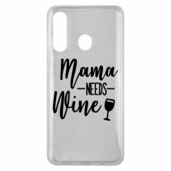 Чехол для Samsung M40 Mama need wine