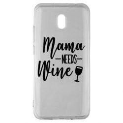 Чехол для Xiaomi Redmi 8A Mama need wine