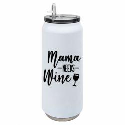 Термобанка 500ml Mama need wine