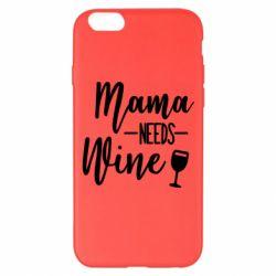 Чехол для iPhone 6 Plus/6S Plus Mama need wine
