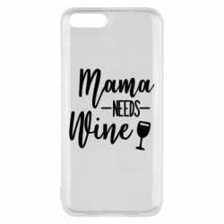 Чехол для Xiaomi Mi6 Mama need wine