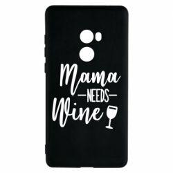 Чехол для Xiaomi Mi Mix 2 Mama need wine