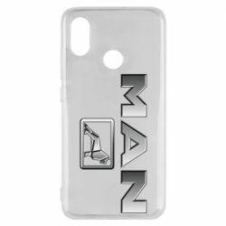 Чехол для Xiaomi Mi8 Man logo and lion