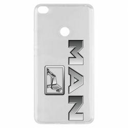 Чехол для Xiaomi Mi Max 2 Man logo and lion