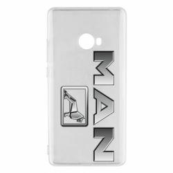 Чехол для Xiaomi Mi Note 2 Man logo and lion
