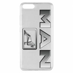 Чехол для Xiaomi Mi Note 3 Man logo and lion