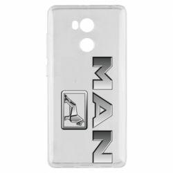 Чехол для Xiaomi Redmi 4 Pro/Prime Man logo and lion