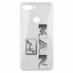 Чехол для Xiaomi Mi8 Lite Man logo and lion