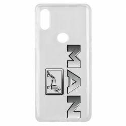 Чехол для Xiaomi Mi Mix 3 Man logo and lion