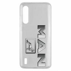 Чехол для Xiaomi Mi9 Lite Man logo and lion