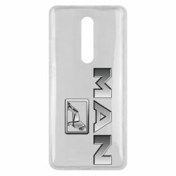 Чехол для Xiaomi Mi9T Man logo and lion