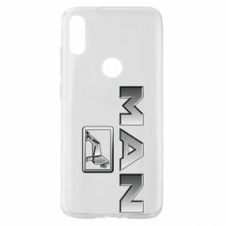 Чехол для Xiaomi Mi Play Man logo and lion