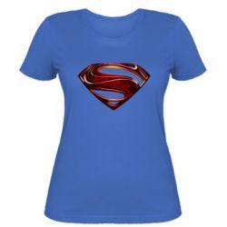 Женская футболка Man of Steel - FatLine
