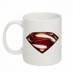 Кружка 320ml Man of Steel