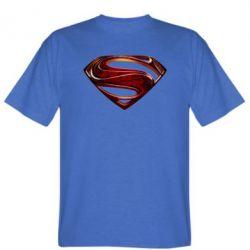 Мужская футболка Man of Steel - FatLine