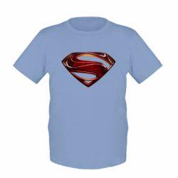 Детская футболка Man of Steel - FatLine