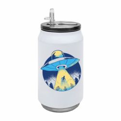 Термобанка 350ml Man to take in space