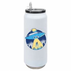Термобанка 500ml Man to take in space