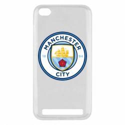 Чехол для Xiaomi Redmi 5a Manchester City