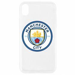 Чохол для iPhone XR Manchester City