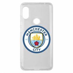 Чехол для Xiaomi Redmi Note 6 Pro Manchester City