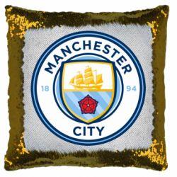 Подушка-хамелеон Manchester City