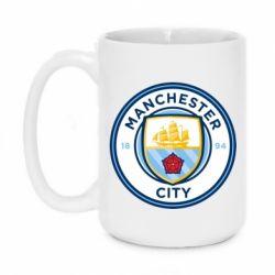 Кружка 420ml Manchester City